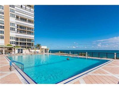 Broward County Rental For Rent: 4280 Galt Ocean Drive #15e