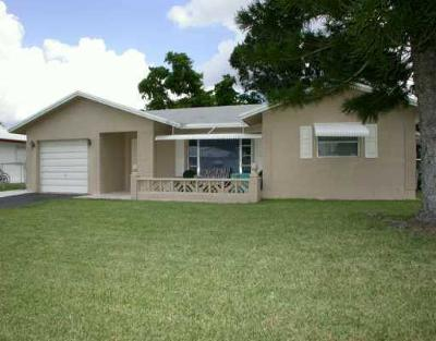 Tamarac Single Family Home For Sale: 9203 NW 68th Street