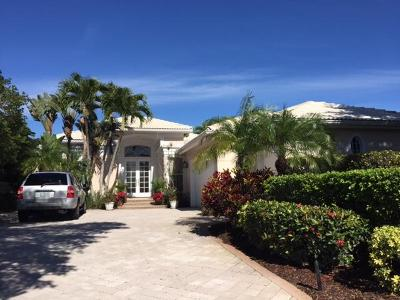 Palm Beach Gardens Single Family Home For Sale: 1148 Crystal Drive