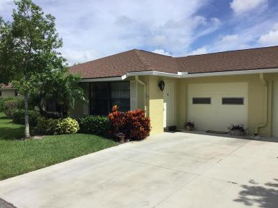Boynton Beach Single Family Home For Sale: 9950 Papaya Tree Trail #A