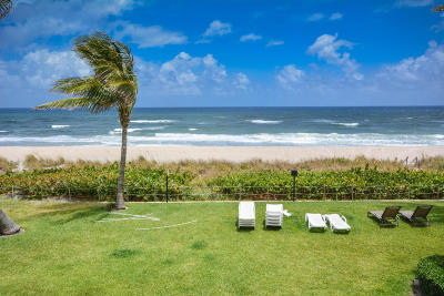 Palm Beach Condo For Sale: 2730 S Ocean Boulevard #209
