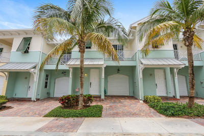 Juno Beach Townhouse For Sale: 455 Ocean Ridge Way