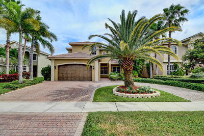 Delray Beach Single Family Home For Sale: 9783 Savona Winds Drive