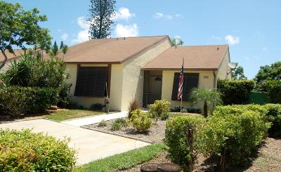 Jupiter Single Family Home Contingent: 212 Palmetto Court