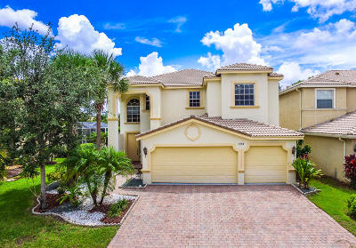 Lake Worth Single Family Home For Sale: 7288 Via Leonardo #D104