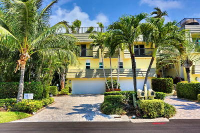 Highland Beach Isles Townhouse For Sale: 1107 Russell Drive #A