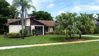 Delray Beach Single Family Home For Sale: 6239 Hitchin Post Way