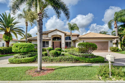 Boynton Beach Single Family Home For Sale: 11296 Westland Circle