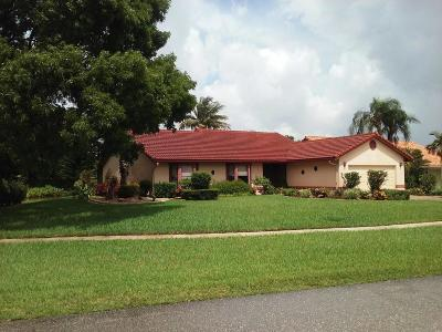 Boca Raton FL Single Family Home For Sale: $378,900
