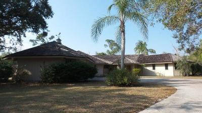 Palm City Single Family Home For Sale: 4330 SW Thistle Terrace