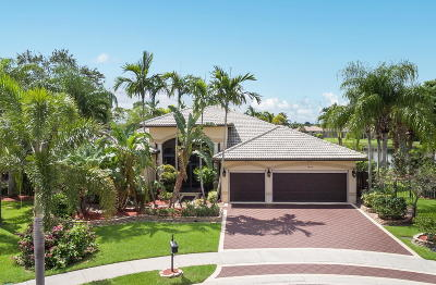 Royal Palm Beach Single Family Home For Sale: 1854 Waldorf Drive