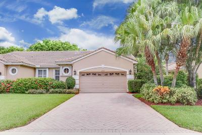 Wellington Single Family Home For Sale: 4702 Carlton Golf Drive