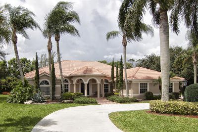 West Palm Beach Single Family Home For Sale: 8790 Wendy Lane S