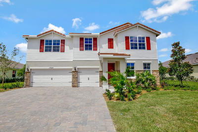 Royal Palm Beach Single Family Home For Sale: 11941 Cypress Key Way