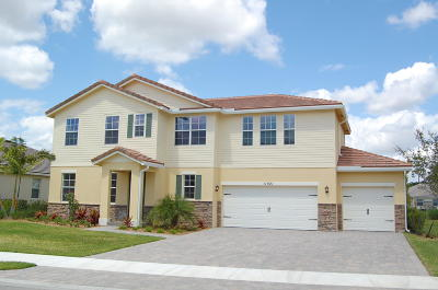 Royal Palm Beach Single Family Home For Sale: 11921 Cypress Key Way