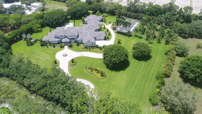 Boca Raton Single Family Home For Sale: 8751 Horseshoe Lane