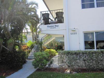 Broward County, Palm Beach County Rental For Rent: 6660 Ocean Boulevard #6