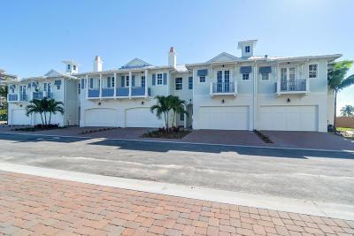 Juno Beach Townhouse For Sale: 128 Ocean Breeze Drive