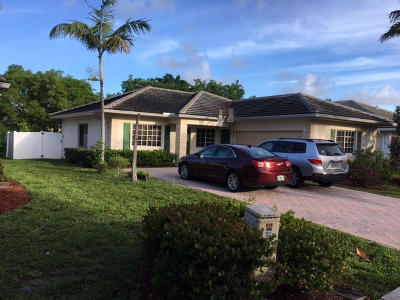 Pompano Beach Single Family Home Contingent: 313 NW 17th Terrace