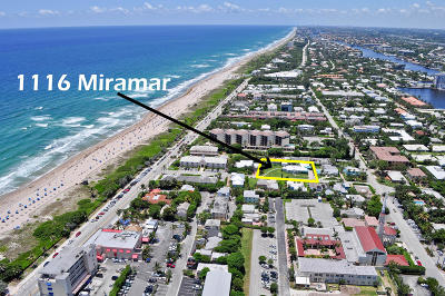 Broward County, Palm Beach County Single Family Home For Sale: 1116 Miramar Drive