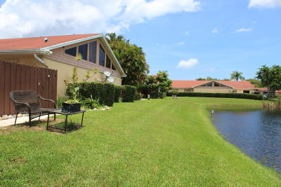 West Palm Beach Single Family Home For Sale: 4369 Woodstock Drive #C