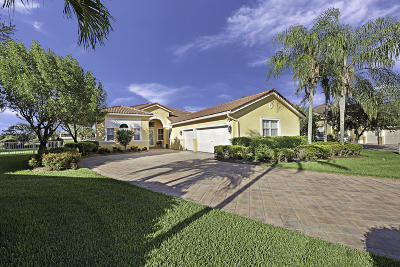 West Palm Beach Single Family Home Contingent: 7943 Preserve Drive