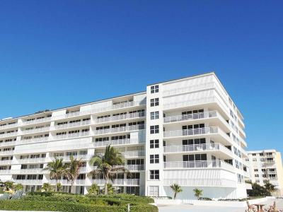 Palm Beach Condo For Sale: 3546 S Ocean Boulevard #308