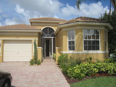 Delray Beach Single Family Home For Sale: 15431 Fiorenza Circle