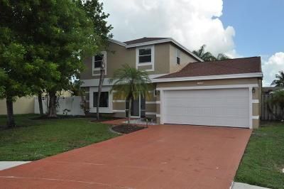 Boca Raton Single Family Home For Sale: 9917 Moss Pond Drive