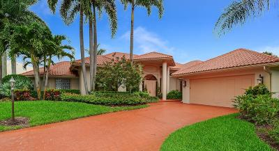 Boynton Beach Single Family Home For Sale: 12077 S Dunes Road