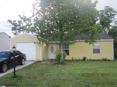 Lake Worth Single Family Home For Sale: 5258 Canal Circle W