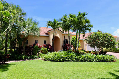Tequesta Single Family Home For Sale: 145 Magnolia Way