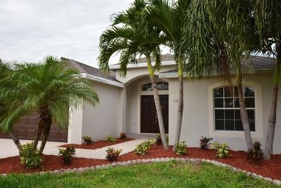Jensen Beach Single Family Home For Sale: 2370 NW Tulip Way