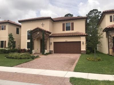 Greenacres Single Family Home For Sale: 6010 Night Heron Court