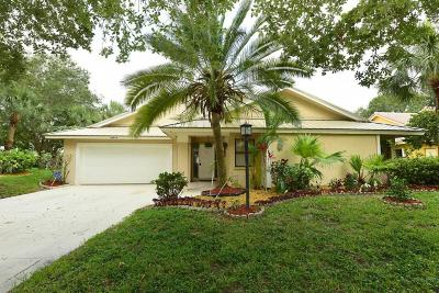 Jupiter Single Family Home For Sale: 18953 Still Lake Drive