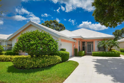 Palm Beach Gardens Single Family Home For Sale: 8624 Wakefield Drive
