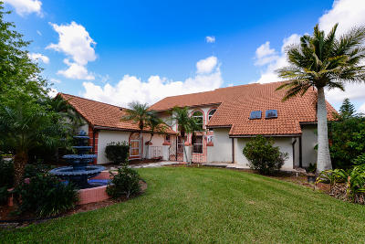 Port Saint Lucie Single Family Home For Sale: 7683 Charleston Way