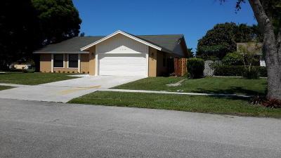 Royal Palm Beach Single Family Home For Sale: 120 Segovia Court