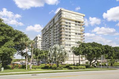 Boca Towers Condo For Sale: 2121 Ocean #1607w
