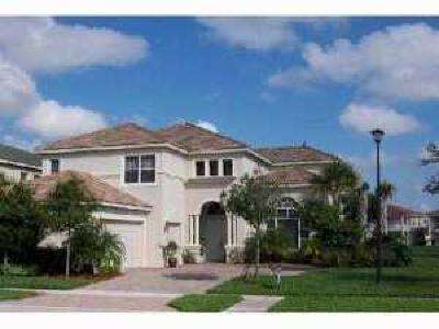 Wellington FL Single Family Home For Sale: $435,000