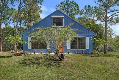 Jupiter Single Family Home For Sale: 11575 153rd Court
