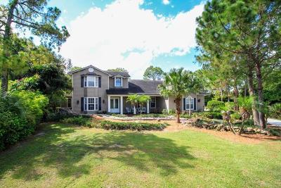 Palm City Single Family Home For Sale: 1162 SW Keats Avenue