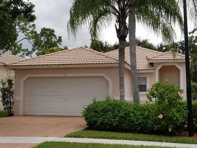 Royal Palm Beach Single Family Home Contingent: 115 Prestige Drive
