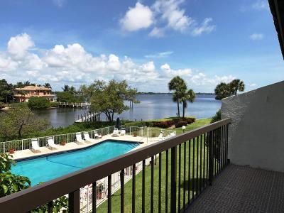 Palm Beach Townhouse For Sale: 3474 S Ocean Boulevard #11