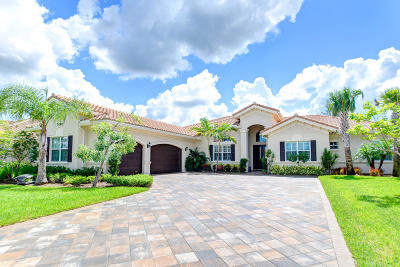 West Palm Beach Single Family Home For Sale: 7690 Maywood Crest Drive