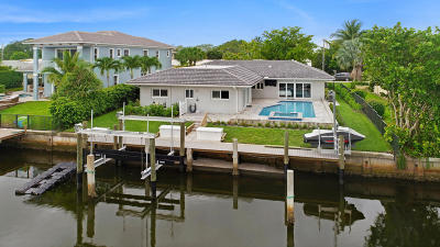 North Palm Beach Single Family Home For Sale: 633 Inlet Road