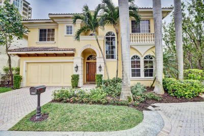 Broward County, Palm Beach County Single Family Home For Sale: 3638 S Ocean Boulevard