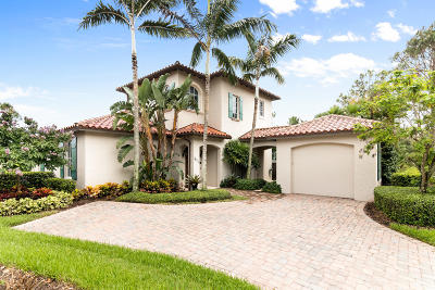 Jupiter Single Family Home For Sale: 611 White Pelican Way