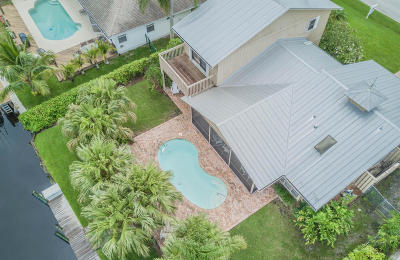 Palm City Single Family Home For Sale: 1739 SW Dyer Point Road