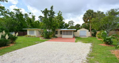 Stuart Single Family Home For Sale